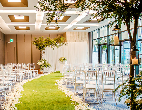 Terrace Wedding