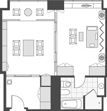 CLUB ONDOL SUITE ROOM FLOOR PLAN