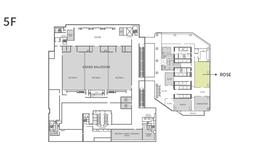 Rose Floor Plan