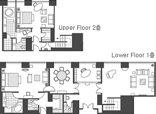 CLUB ROYAL SUITE ROOM FLOOR PLAN