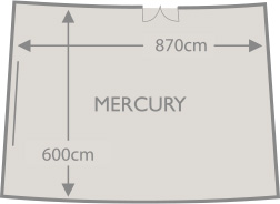 MERCURY Floor Plan