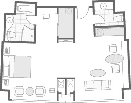 BUSINESS SUITE FLOOR PLAN