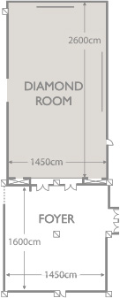 DIAMOND HALL Floor Plan