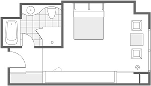 FLOOR PLAN – ONDOL ROOM